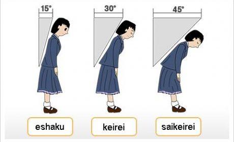 Phong cách cúi chào trong môi trường việc làm tiếng Nhật