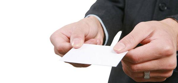 Cách sử dụng danh thiếp trong môi trường tiếng Nhật