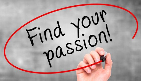 tìm kiếm niềm đam mê trong công việc