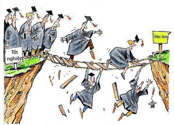 Có bằng Đại Học = Tỉ lệ thất nghiệp cao