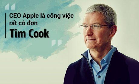 Tim Cook – Tỏa sáng bằng tài năng thay vì ẩn mình trong cái bóng của Steve Jobs