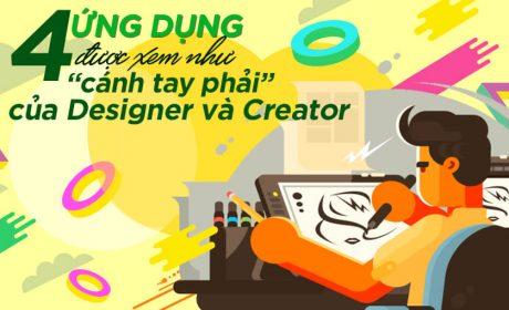 """4 ứng dụng được xem như """"cánh tay phải"""" của Designer và Creator"""