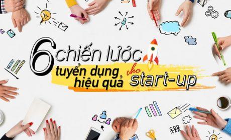 6 chiến lược tuyển dụng giúp Start-up tiết kiệm tối đa chi phí