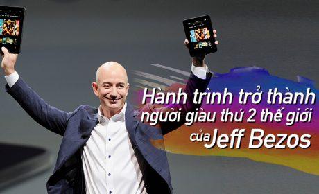 Hành trình trở thành người giàu thứ 2 thế giới của Jeff Bezos