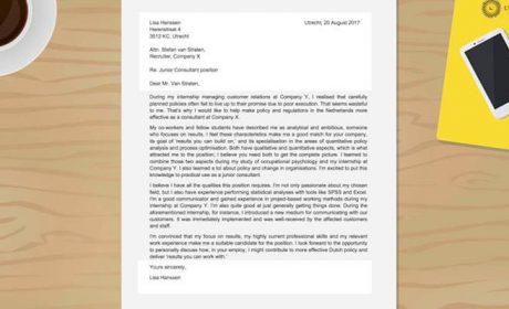 Cách viết một thư xin việc cho nhà tuyển dụng