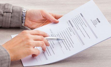 Cách tạo hồ sơ xin việc