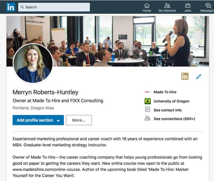 Cách tối ưu hóa hồ sơ LinkedIn của bạn để bổ sung Resume của bạn
