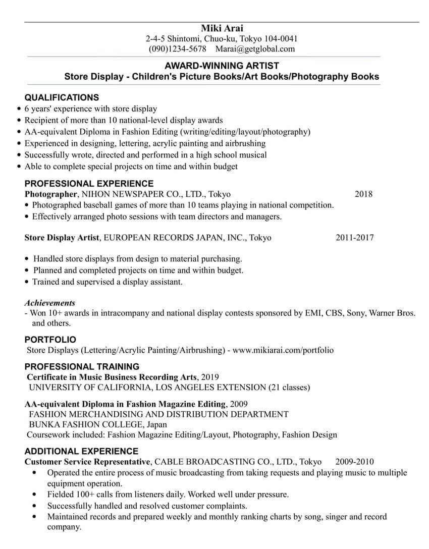 Cách tùy chỉnh trong CV theo mỗi vị trí ứng tuyển