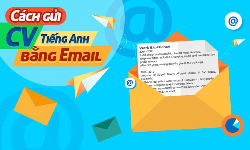 Cách gửi CV tiếng Anh bằng Email