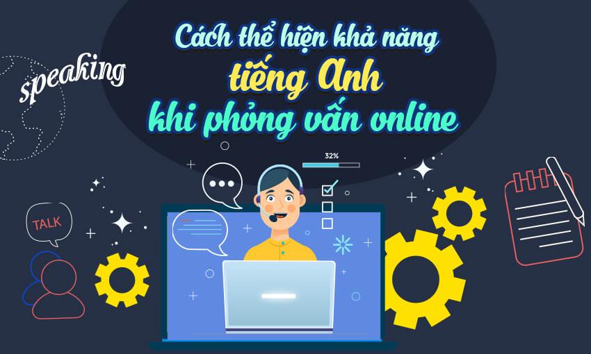 Cách thể hiện khả năng tiếng Anh khi phỏng vấn Online