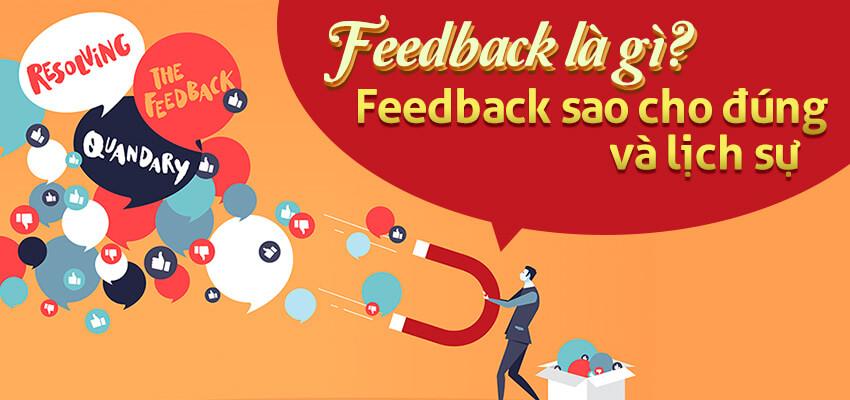 """""""FeedBack"""" là gì? FeedBack làm sao cho đúng và lịch sự?"""