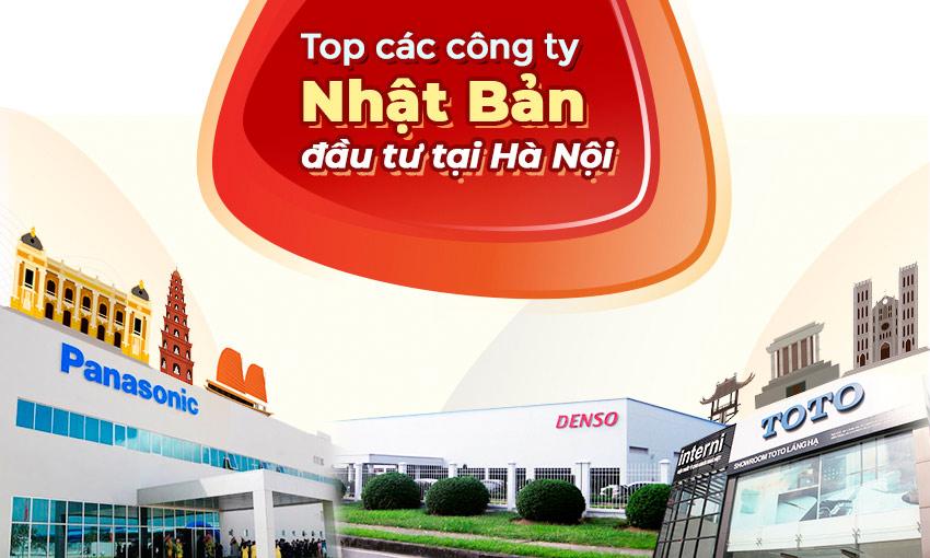 Danh sách các công ty Nhật Bản đầu tư tại Hà Nội