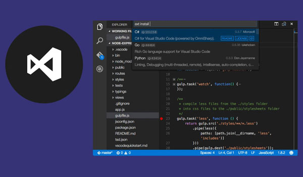 IDE Visual Studio Code hỗ trợ lập trình Python