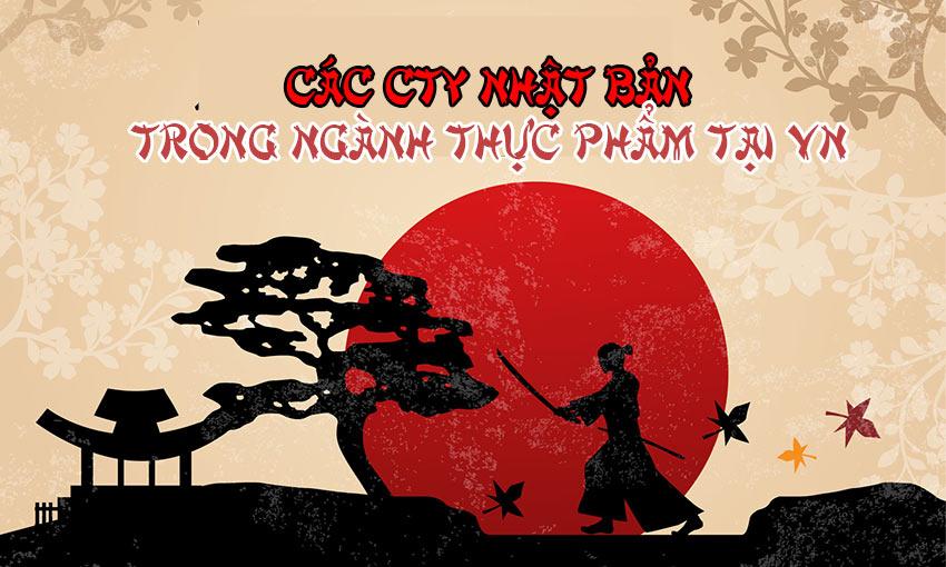 Các công ty Nhật Bản trong ngành thực phẩm tại Việt Nam